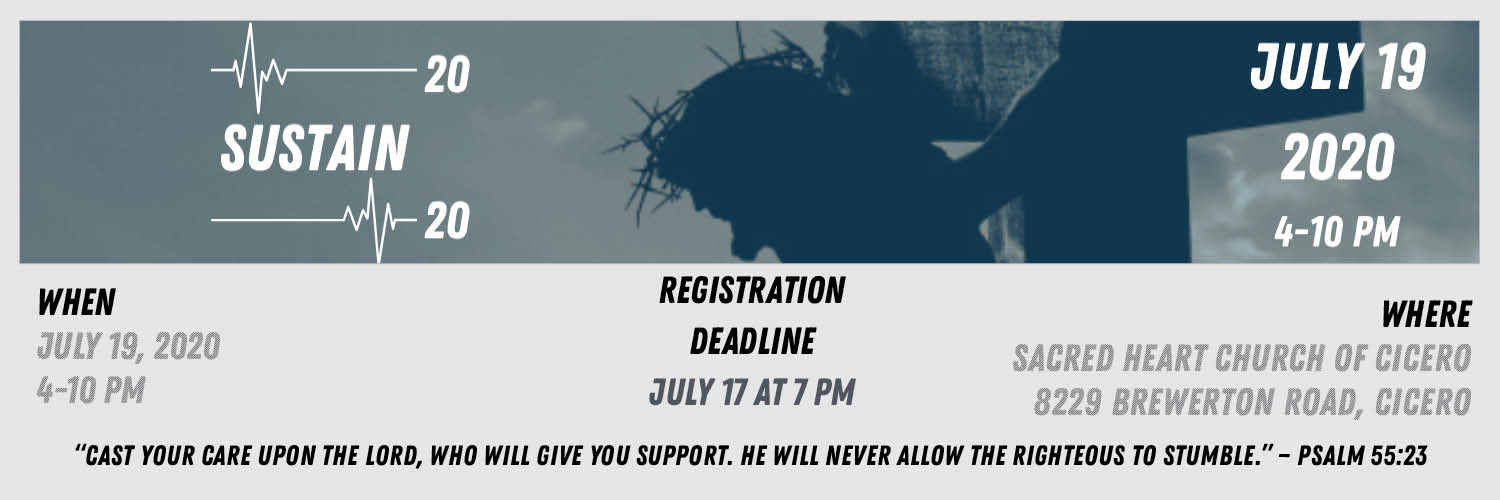 Web Banner 2 - SUSTAIN 2020 Registration Page